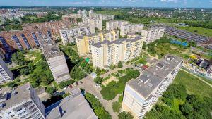 Новобудови у мікрорайоні Огнівка, Полтава